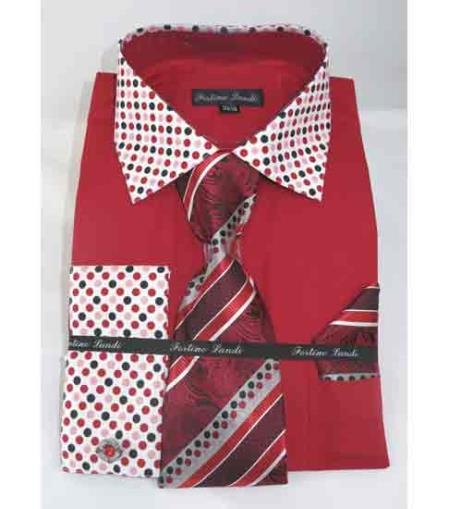 Mens Red Fire French