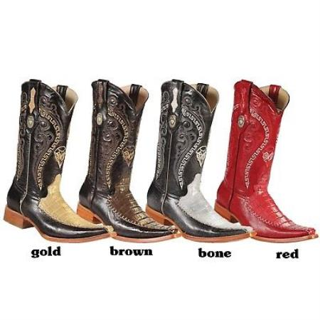 Product#KA5758 Xxx-Toe cai ~ Alligator skin Western Cowboy Boots By New Reg: $795 discounted Online Sale clearance diamonds