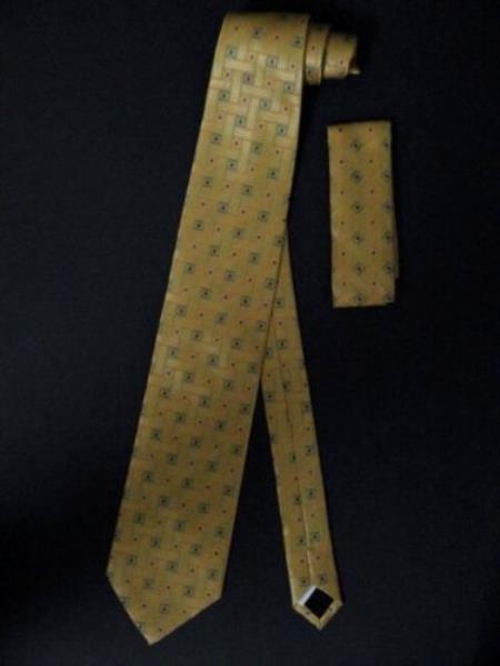 Neck Tie W/ Hankerchief