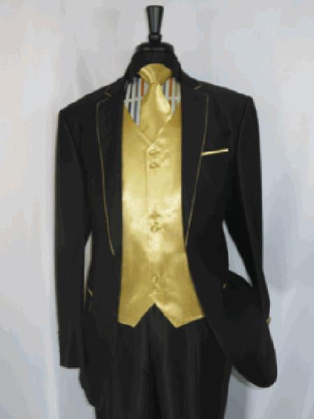 Gold Suit Two Toned