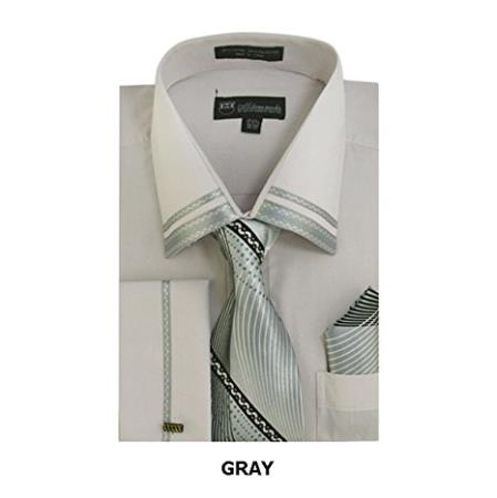 Mens Fashion Gray Shirt