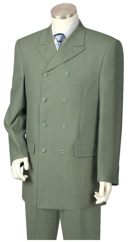 Olive Green Suit for
