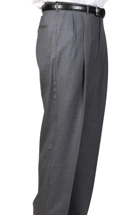 Cambridge Somerset Double-Pleated Slacks