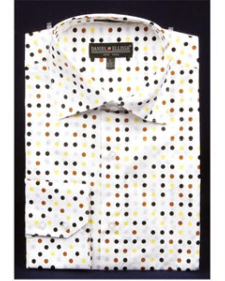 Mens High Collar Shirts