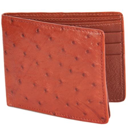 Product# KA6220 Carteras Avestruz Wallet – Miel
