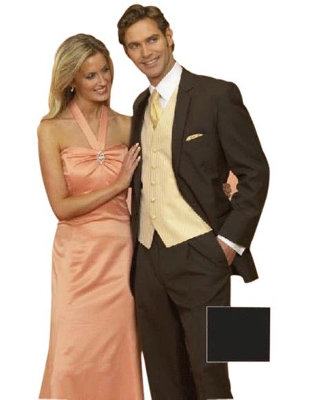 Light Weight Two Button CoCo brown color shade Notch Wedding Suits for Online As seen IN Bridal Magazin