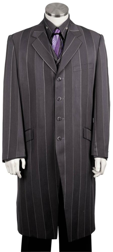 Mens Pinstripe Stylish 3pc