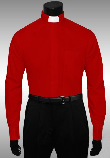 red color shade Clergy