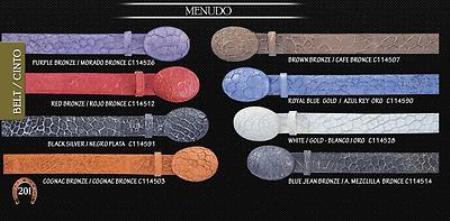 "Menudo Cowboy Belt 15"""