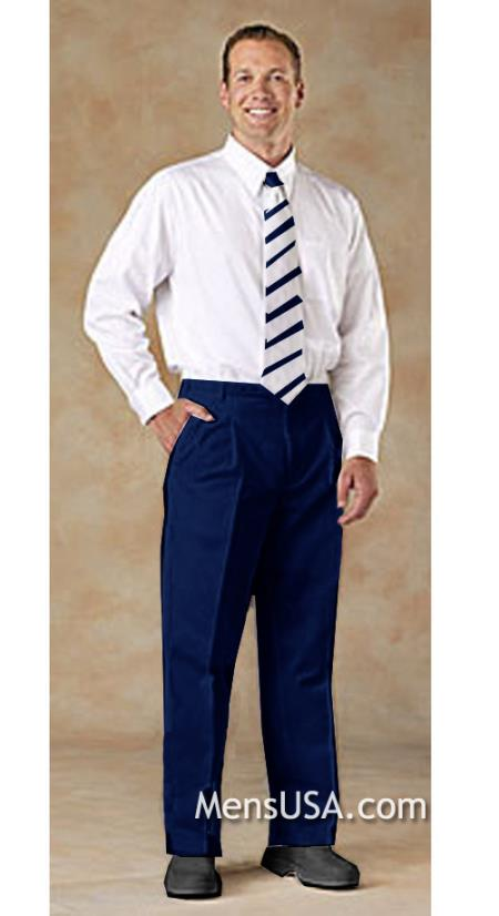 Pleated Slacks Pants /