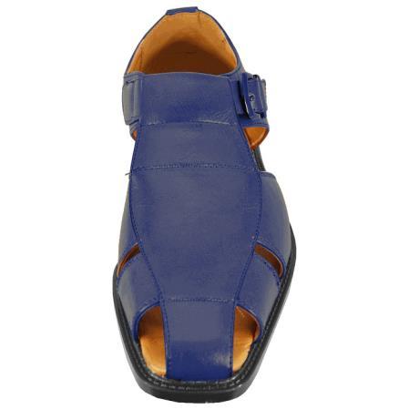 Product# JSM-3293 Men's Navy Sandal