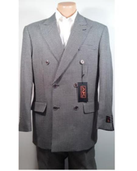 Fabric Double Breasted Suit