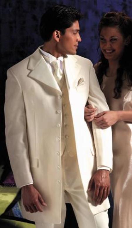 Ivory~OFF White~Cream Tuxedo 355\