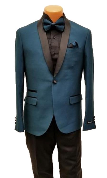 men's One Button Shawl Lapel Prom Wedding Tuxedo Clearance Sale Online