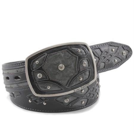 King Exotic Gray Belt