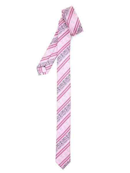 Striped Pink Fully Lined