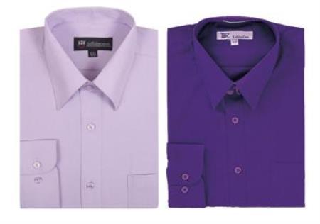 Men's Plain Solid Color