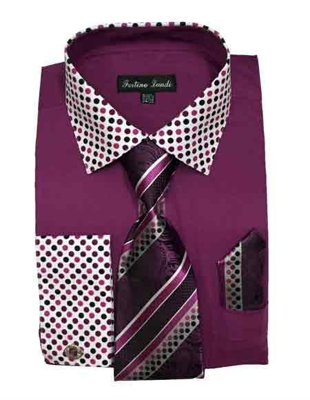 Mens Cotton Blend Rose