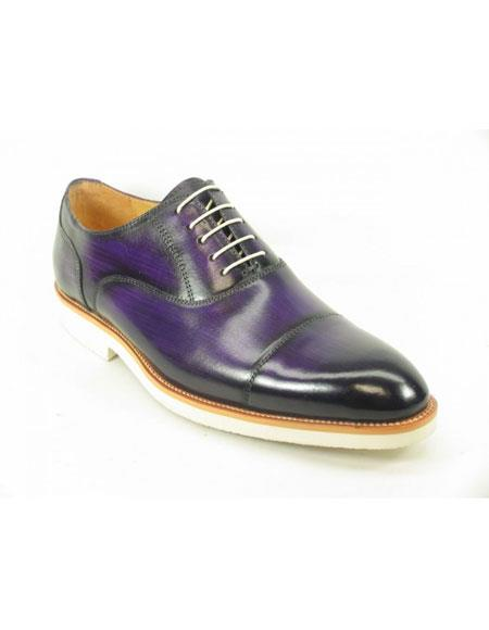 Mens Fashionable Carrucci Genuine