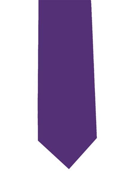 Mens Extra Long Purple
