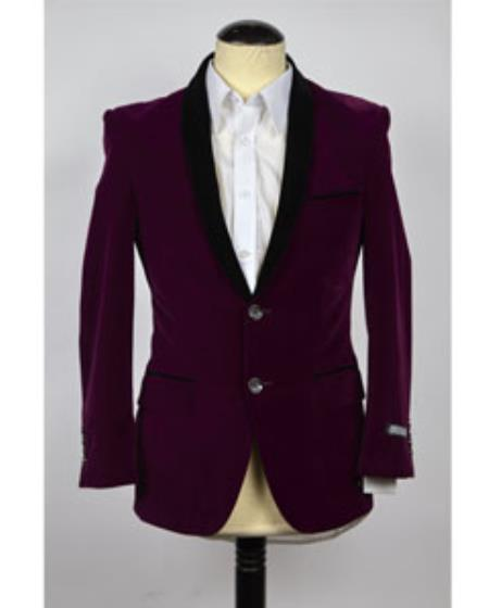 Velvet Blazer Online Sale Jacket Purple