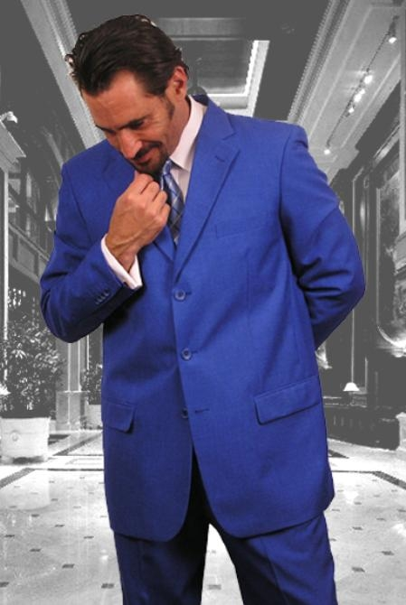 Product# C74 Beautiful Royal Blue Suit For Men Perfect  pastel color With Nice Cut Smooth Soft Fabric