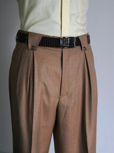 Wide Leg Rust 1920s