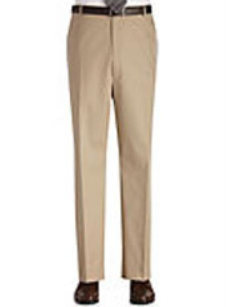 Product# KA0980 Flat Front Regular Rise Slacks