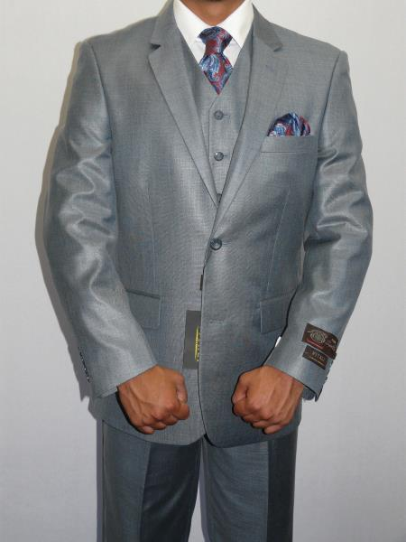 Three Piece Vested Suit