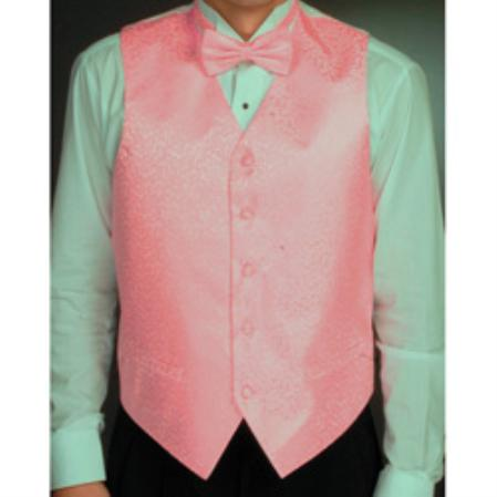 Light Pink Four-piece Vest