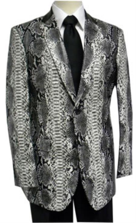 Snake Print Fashion Blazer