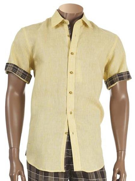Mens Short Sleeve Two