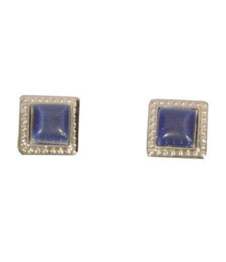 Ferrecci Silver/Blue Favor Cuff
