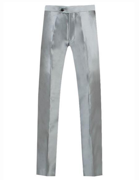 Mens Silver Grey ~