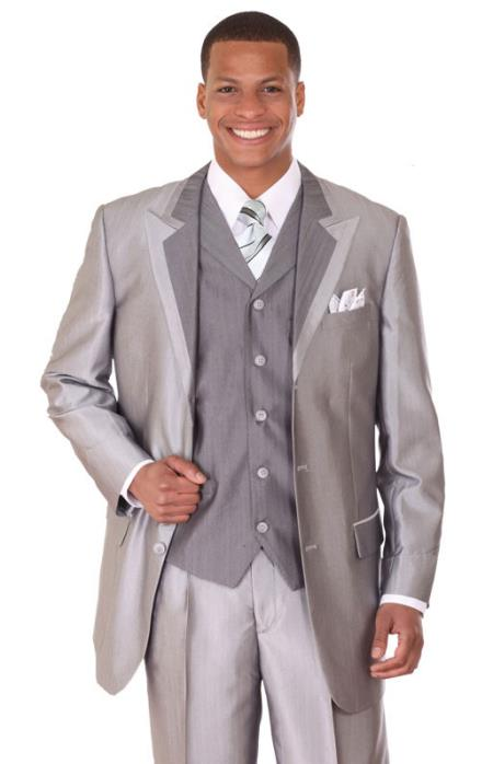 Tuxedo Formal Looking Vested