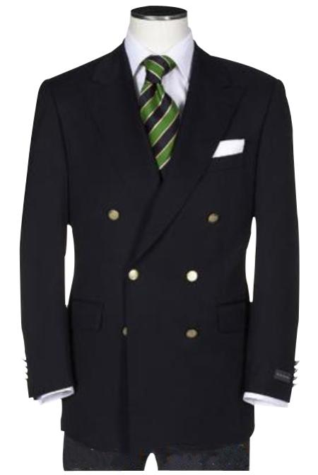 t Quality Solid Liquid Jet Black Double Breasted Blazer Online Sale With Best Cut & Fabric