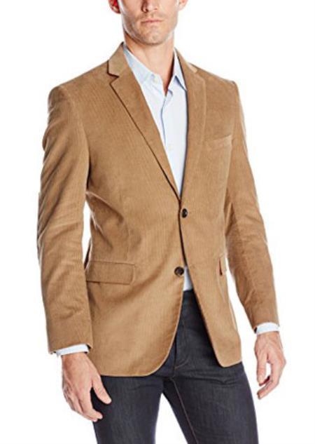 Side-Flap Pocket Cotton Corduroy