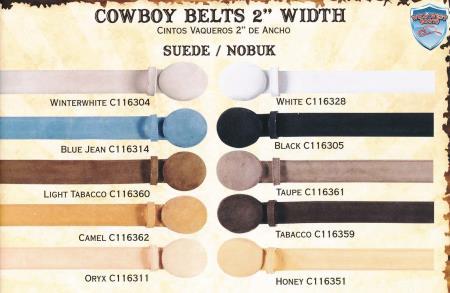 Genuine Suede/Nobuk Cowboy Western