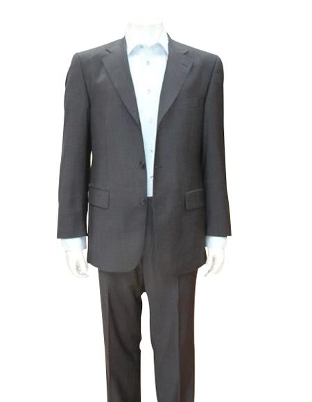 Dark Grey Masculine color Gray Single Breasted Discount Cheap Dress 3 Button Style Cheap Suit