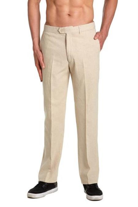 Linen Dress Pants Trousers