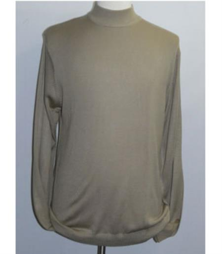Mens Taupe INSERCH Mock