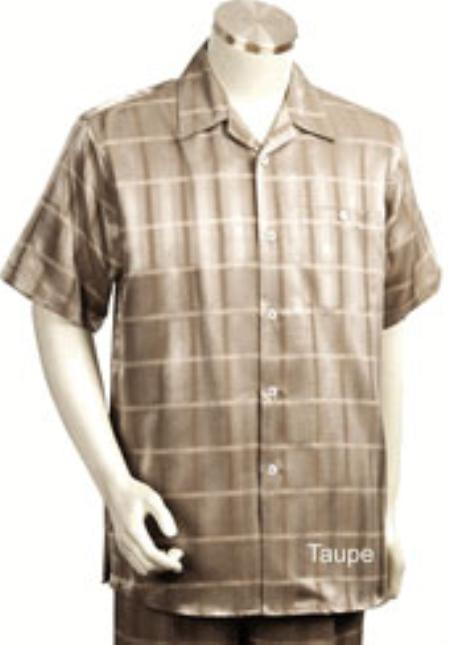 Leisure polyester/viscose Short Sleeve