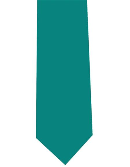 Mens Teal Solid Extra