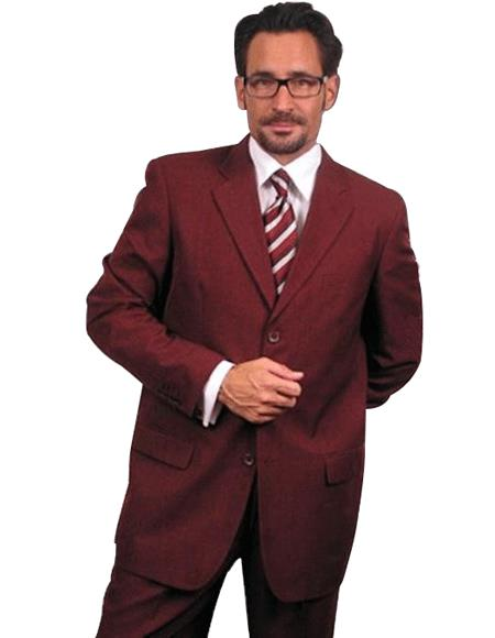 Dark Burgundy ~ Maroon ~ Wine Color~Wine 2or3 Buttons Style Dress Suits for Online