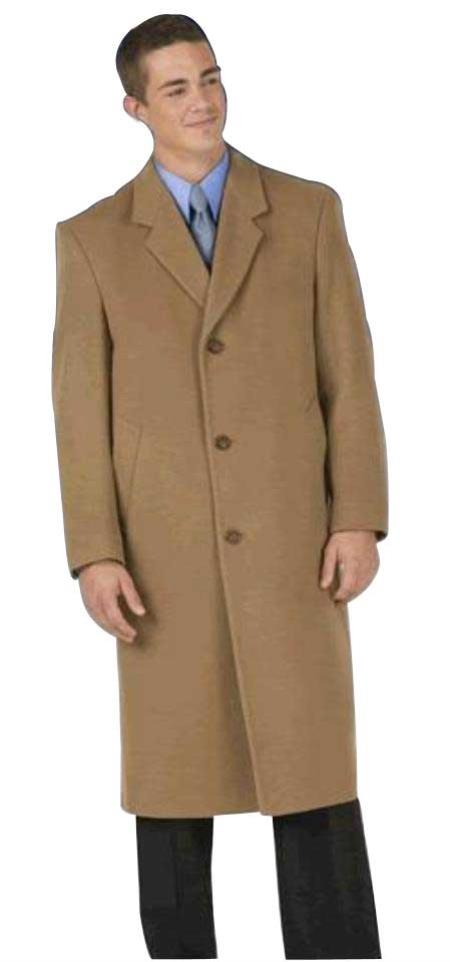 EMIL-CT03 Sentry8811 45 single breasted classic model features button through front, notch lapel
