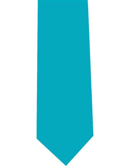 Mens Extra Long Turquoise