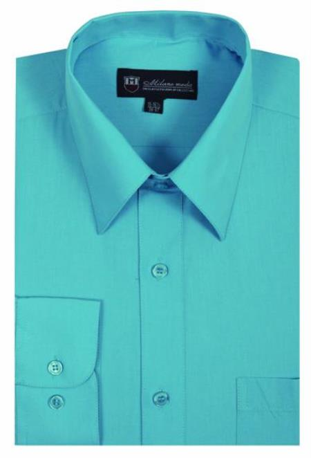 Men's Plain Solid Color