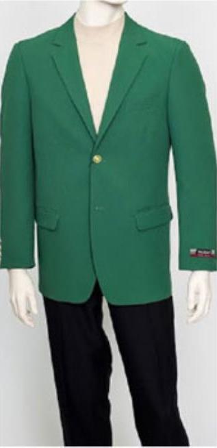 Men's Pacelli Classic Green Blazer Jacket Blair
