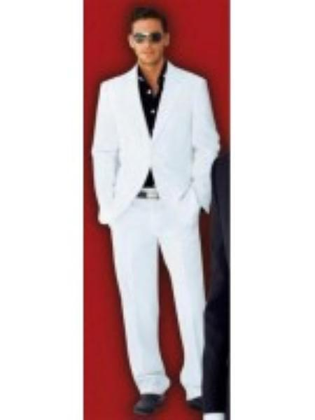 Suit 2-Button White Suit