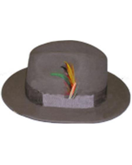Untouchable Taupe Hat